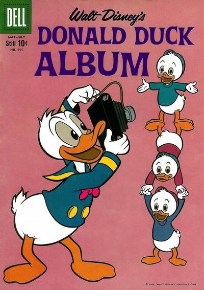 Cover for Four Color (Dell, 1942 series) #995 - Walt Disney's Donald Duck Album