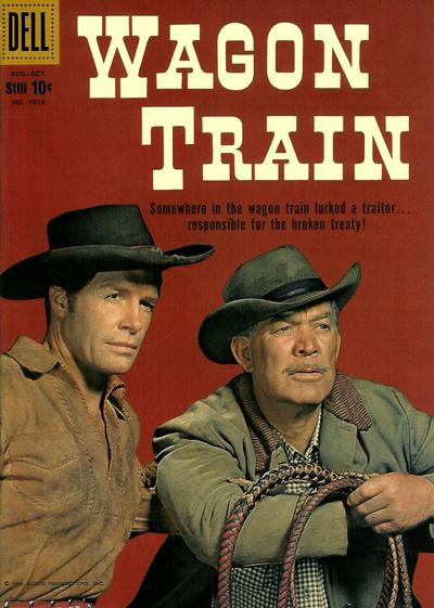 Cover for Four Color (Dell, 1942 series) #1019 - Wagon Train