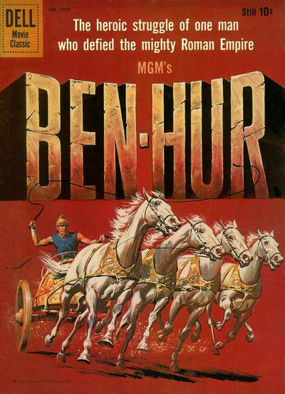 Cover for Four Color (Dell, 1942 series) #1052 - Ben Hur