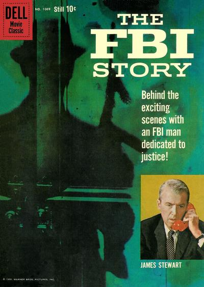 Cover for Four Color (Dell, 1942 series) #1069 - The FBI Story