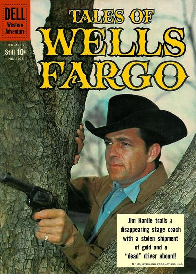 Cover for Four Color (Dell, 1942 series) #1075 - Tales of Wells Fargo