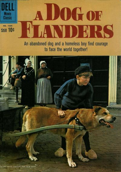 Cover for Four Color (Dell, 1942 series) #1088 - A Dog of Flanders