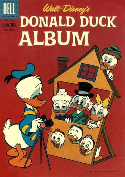 Cover for Four Color (Dell, 1942 series) #1099 - Walt Disney's Donald Duck Album