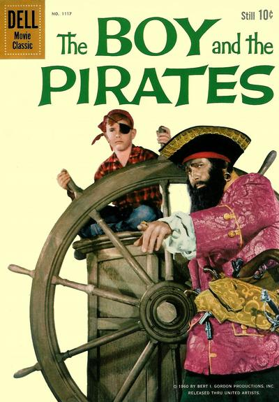 Cover for Four Color (Dell, 1942 series) #1117 - The Boy and the Pirates