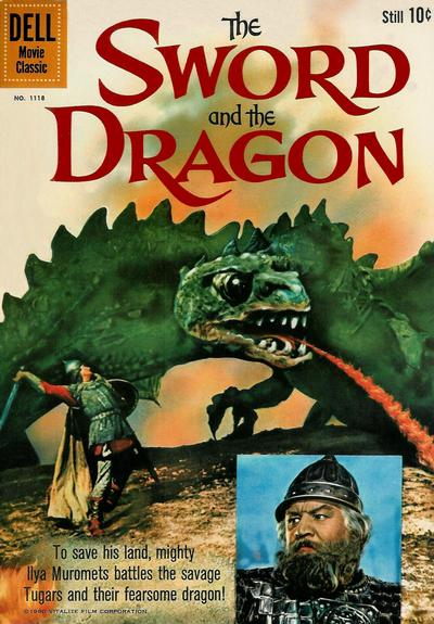 Cover for Four Color (Dell, 1942 series) #1118 - The Sword and the Dragon