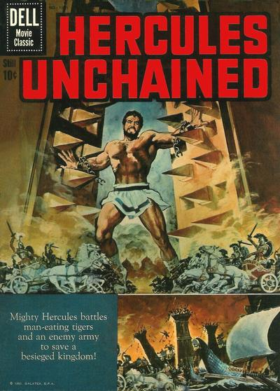 Cover for Four Color (Dell, 1942 series) #1121 - Hercules Unchained [British]