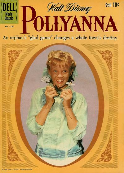 Cover for Four Color (Dell, 1942 series) #1129 - Walt Disney's Pollyanna