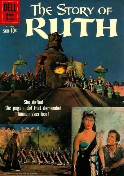 Cover for Four Color (Dell, 1942 series) #1144 - The Story of Ruth