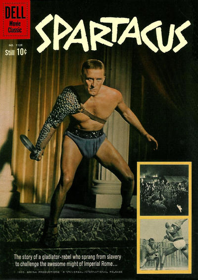 Cover for Four Color (Dell, 1942 series) #1139 - Spartacus