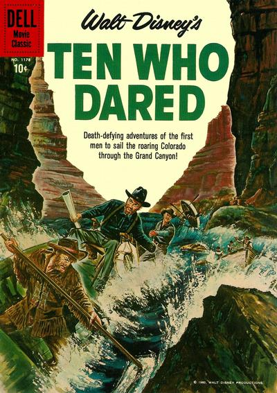 Cover for Four Color (Dell, 1942 series) #1178 - Walt Disney's Ten Who Dared