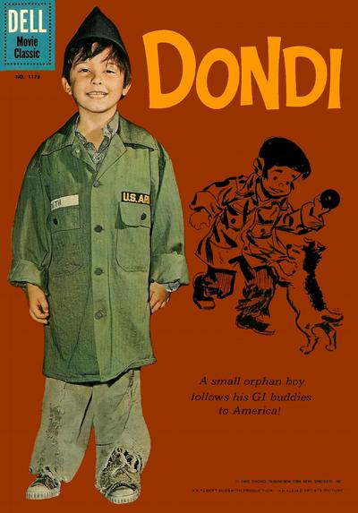 Cover for Four Color (Dell, 1942 series) #1176 - Dondi