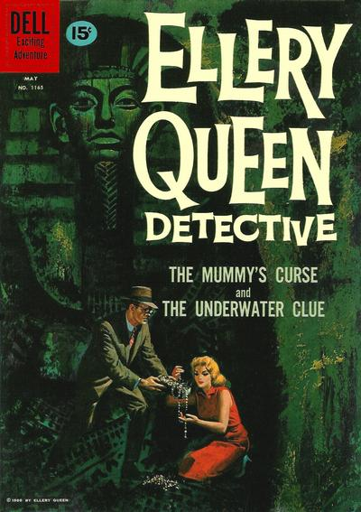 Cover for Four Color (Dell, 1942 series) #1165 - Ellery Queen [British]
