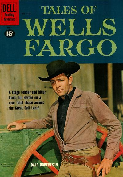 Cover for Four Color (Dell, 1942 series) #1167 - Tales of Wells Fargo