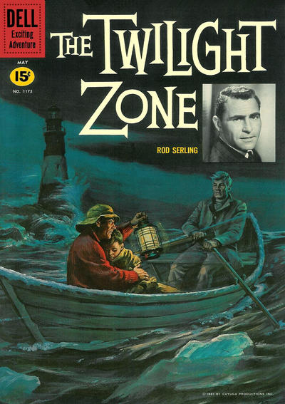 Cover for Four Color (Dell, 1942 series) #1173 - The Twilight Zone