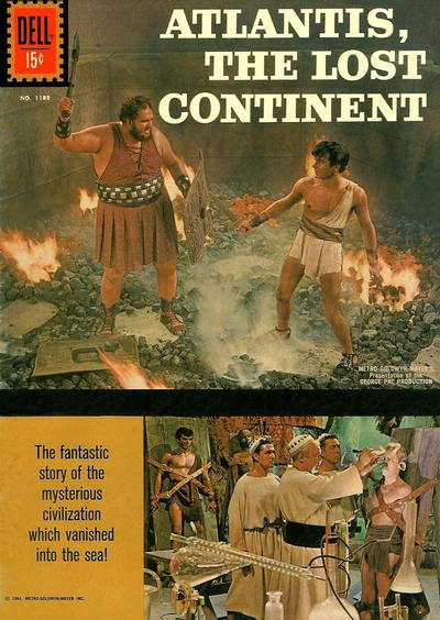 Cover for Four Color (Dell, 1942 series) #1188 - Atlantis, the Lost Continent
