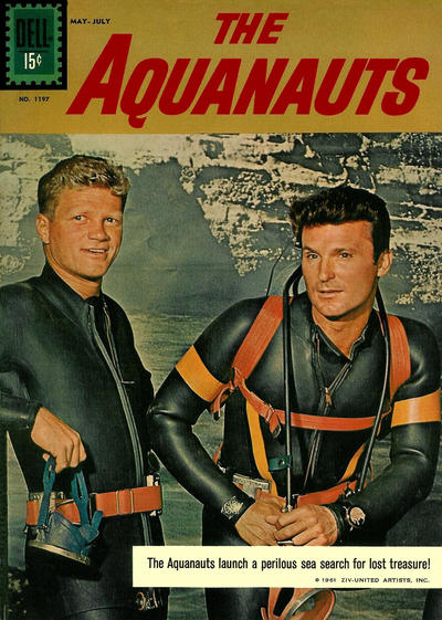 Cover for Four Color (Dell, 1942 series) #1197 - The Aquanauts