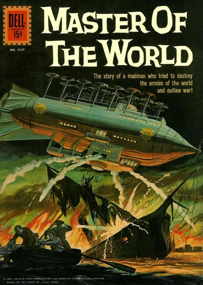 Cover for Four Color (Dell, 1942 series) #1157 - Master of the World