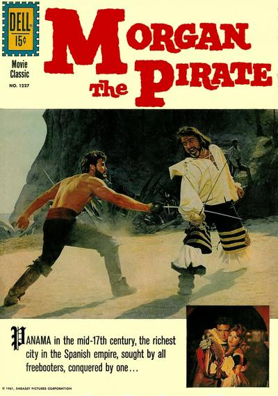 Cover for Four Color (Dell, 1942 series) #1227 - Morgan the Pirate