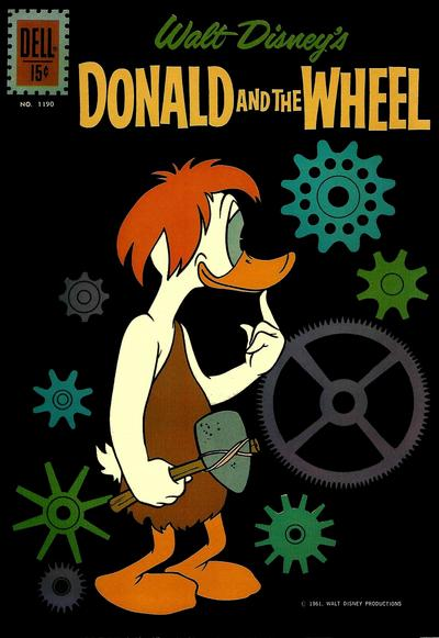 Cover for Four Color (Dell, 1942 series) #1190 - Walt Disney's Donald and the Wheel