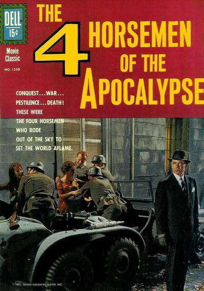 Cover for Four Color (Dell, 1942 series) #1250 - Four Horsemen of the Apocalypse