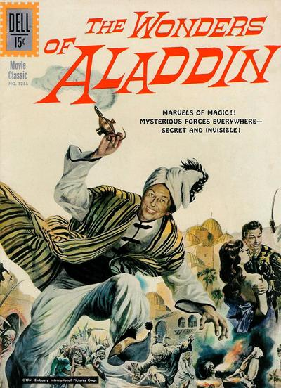 Cover for Four Color (Dell, 1942 series) #1255 - The Wonders of Aladdin