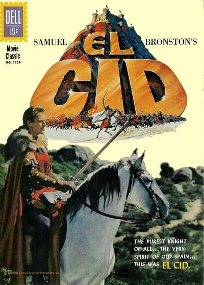 Cover for Four Color (Dell, 1942 series) #1259 - Samuel Bronston's El Cid