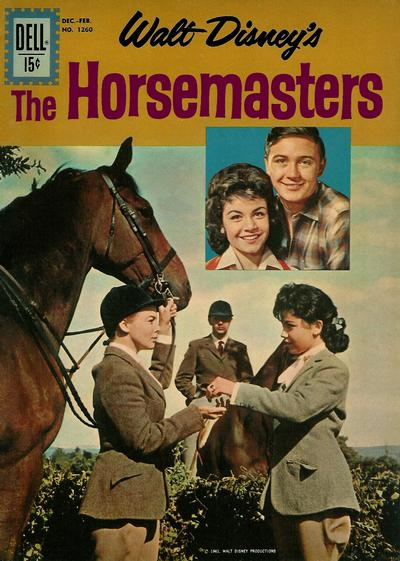 Cover for Four Color (Dell, 1942 series) #1260 - Walt Disney's The Horsemasters