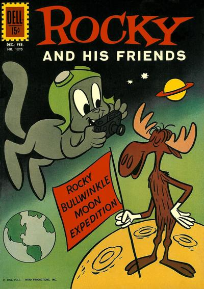 Cover for Four Color (Dell, 1942 series) #1275 - Rocky and His Friends