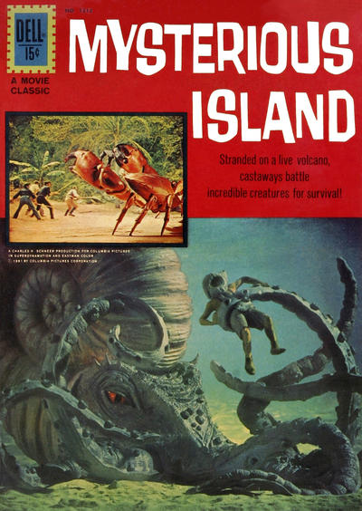Cover for Four Color (Dell, 1942 series) #1213 - Jules Verne's Mysterious Island