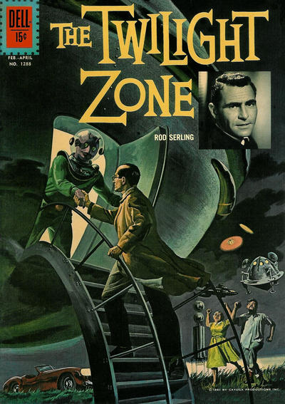 Cover for Four Color (Dell, 1942 series) #1288 - The Twilight Zone