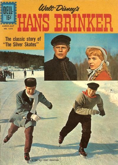 Cover for Four Color (Dell, 1942 series) #1273 - Walt Disney's Hans Brinker