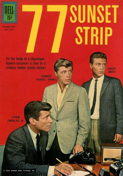 Cover for Four Color (Dell, 1942 series) #1291 - 77 Sunset Strip