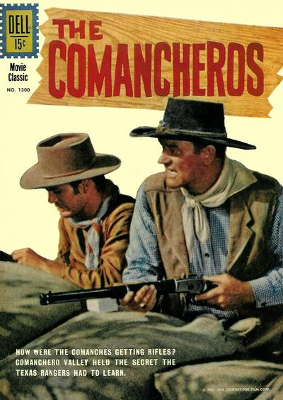 Cover for Four Color (Dell, 1942 series) #1300 - The Comancheros
