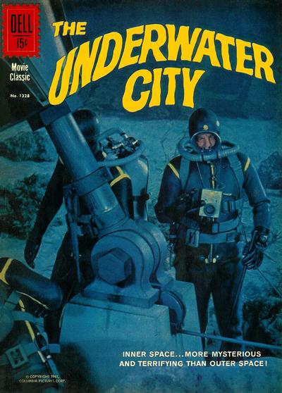 Cover for Four Color (Dell, 1942 series) #1328 - Underwater City
