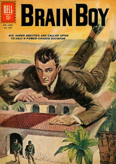 Cover for Four Color (Dell, 1942 series) #1330 - Brain Boy