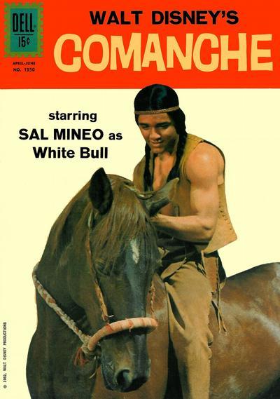 Cover for Four Color (Dell, 1942 series) #1350 - Walt Disney's Comanche