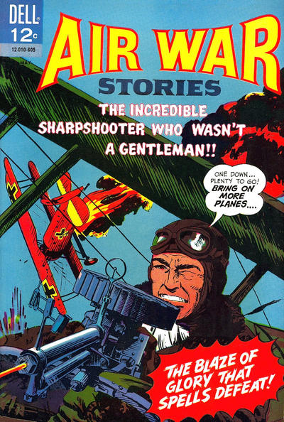 Cover for Air War Stories (Dell, 1964 series) #7