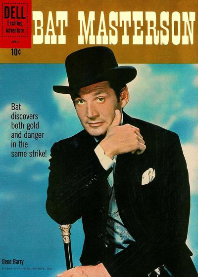 Cover for Bat Masterson (Dell, 1960 series) #6
