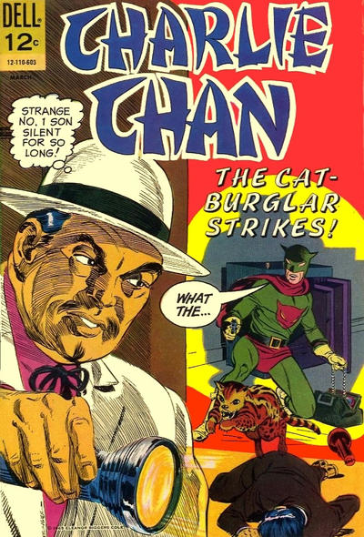 Cover for Charlie Chan (Dell, 1965 series) #2