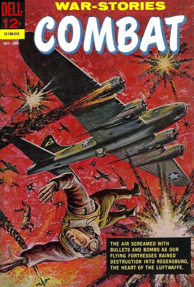 Cover for Combat (Dell, 1961 series) #6