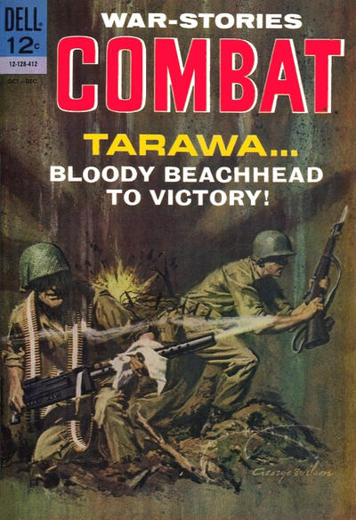 Cover for Combat (Dell, 1961 series) #14