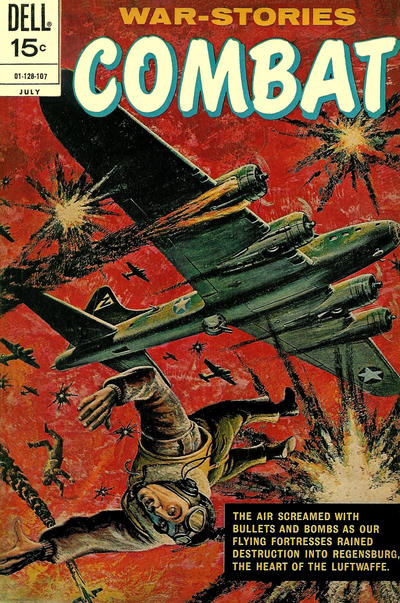 Cover for Combat (Dell, 1961 series) #32