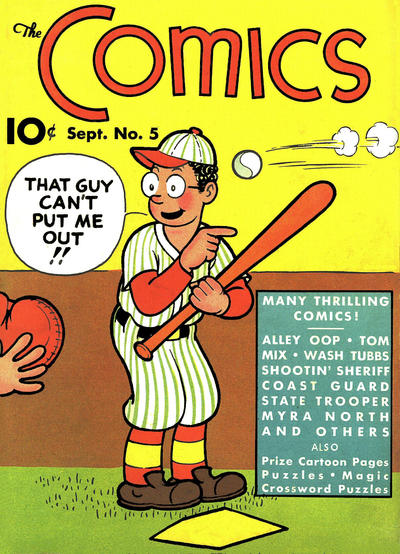 Cover for The Comics (Dell, 1937 series) #5