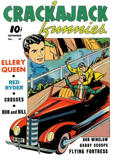 Cover for Crackajack Funnies (Western, 1938 series) #27