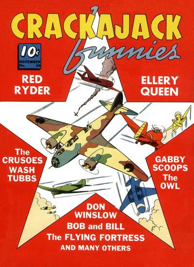 Cover for Crackajack Funnies (Western, 1938 series) #29