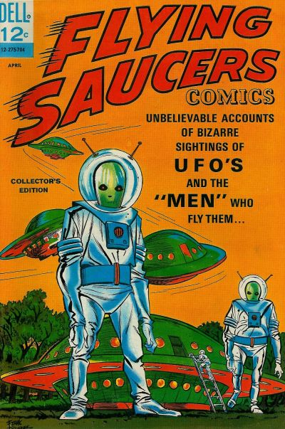 Cover for Flying Saucers (Dell, 1967 series) #1