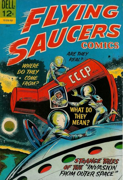 Cover for Flying Saucers (Dell, 1967 series) #2