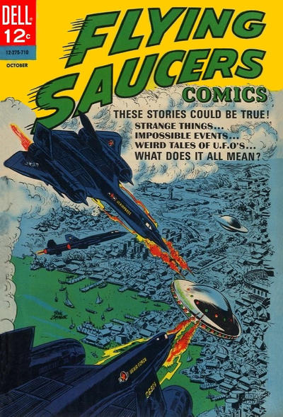 Cover for Flying Saucers (Dell, 1967 series) #3