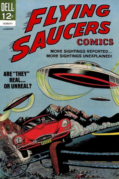 Cover for Flying Saucers (Dell, 1967 series) #4