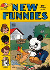 Cover for New Funnies (Dell, 1942 series) #92